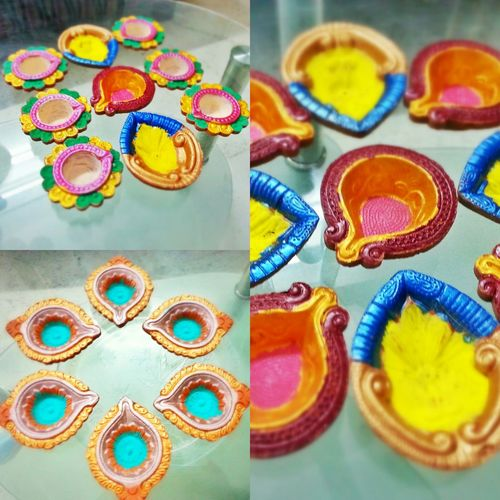 Diwali Diya Colors