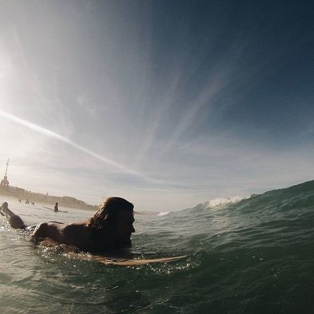 Here we go... Life Waves Gopro Awesomewaves Sand Ocean Timeless Water Jeffreysbay Blessed  Thisguy Mylove Surfing Surfer Surfboard