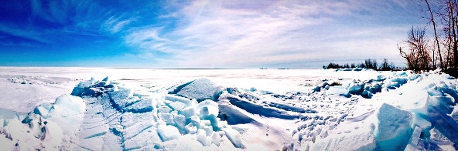 Last stretch of winter 2018 Lake Michigan Great Lakes Tiny Planet Lake Michigan Wisconsin EyeEm Nature Lover Wisconsin Lake Wisconsin Winter Discoverwisconsin Winter Cold Temperature Snow Beauty In Nature Cloud - Sky Sky Scenics - Nature