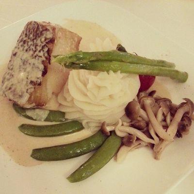 Pan-seared Cod Fish
