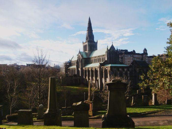 Cathedral Necropolis Autumn Day Monuments Urban Landscape Scotland EyeEm Best Shots
