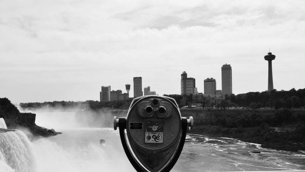-Niagara- Niagara Falls Niagara Waterfall City Tall - High Surveillance Observation Point Waterfront EyeEm Best Shots EyeEm Best Shots - Black + White
