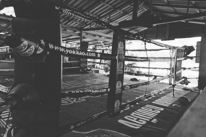 13 Coins Muay Thai Gym MuayThai Thailand B&w Street Photography Bangkok Gym Fightclub First Eyeem Photo