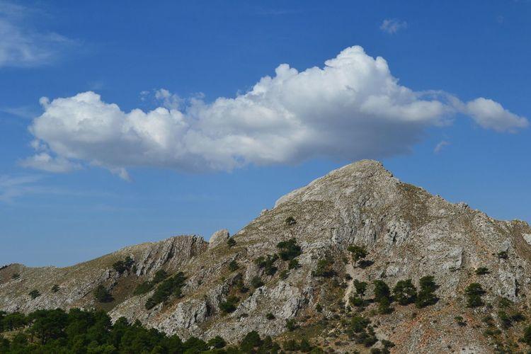 Pico del Almenara Sky Cloud - Sky Mountain Beauty In Nature Tranquility Scenics - Nature Tranquil Scene