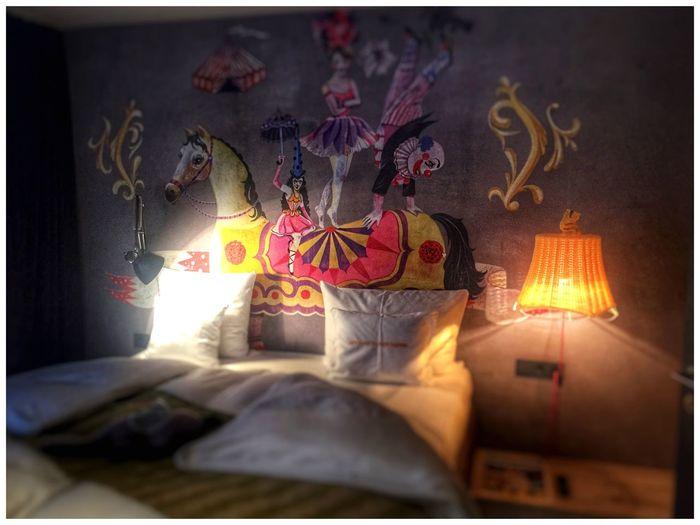 Hoteltel room] Hotels Hotel Vienna Bed Bedroom Bedroom Wall Iphone6 IPhoneography