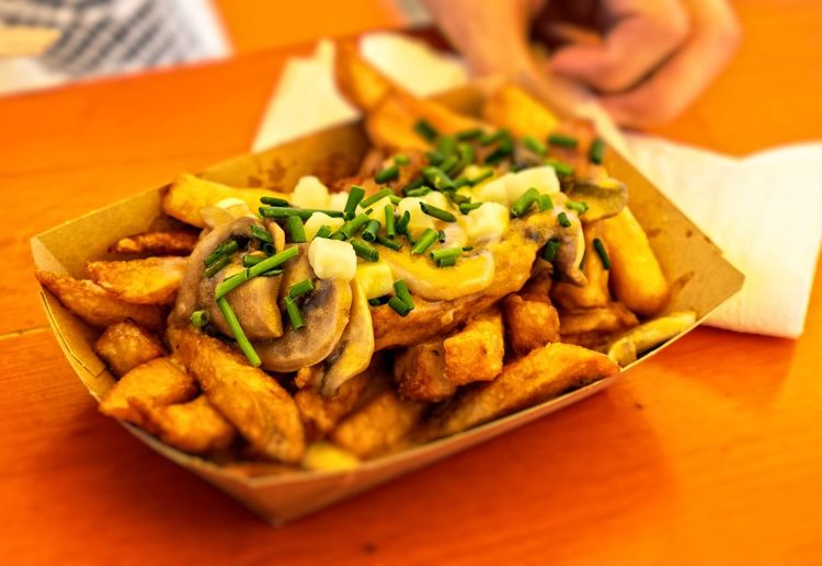 Eine Portion Acrylamid ... Urban Perspectives The Devil's In The Detail Summer In The City Vegetarian Food Close-up Food And Drink Fried Potato Fast Food French Fries Deep Fried  French Fries Fried Food Potato