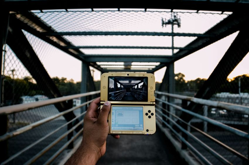 For Iwatta 3DS XL Nintendo The Street Photographer - 2015 EyeEm Awards Gaming Street Photography The Legend Of Zelda Bridge Taking Photos Urban Exploration Adventure