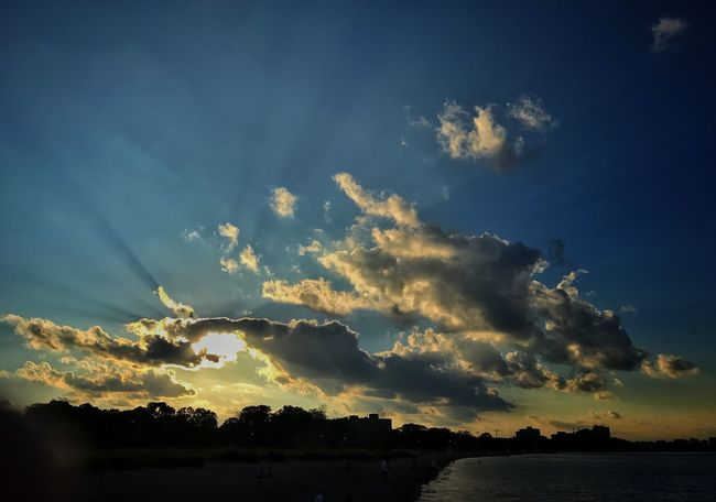 Evening stroll Part 2 Lake Michigan Chicago Sunset Clouds And Sky