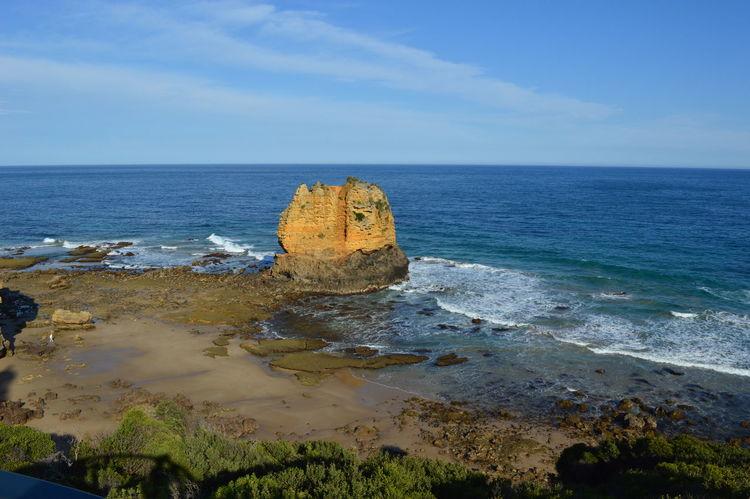 Great Ocean Road Seascape Stack Rock Tide Surf Low Tide