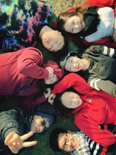 Juniorhighschool Friends Hangouttogether had a Greattime in this Cold Winterdays Love this We still Young Fun