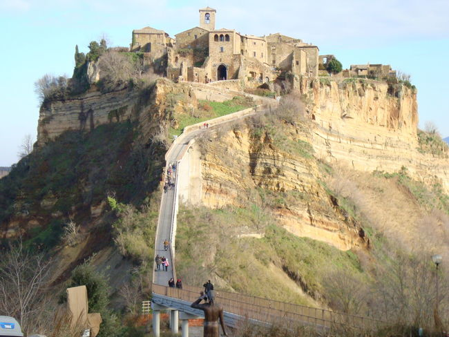 Civita Di Bagnoregio Hamlet Beauty Caracteristic Place Italy❤️ Your Ticket To Europe