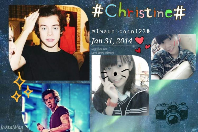 Relaxing Harry Styles <3 Christine Imaunicorn