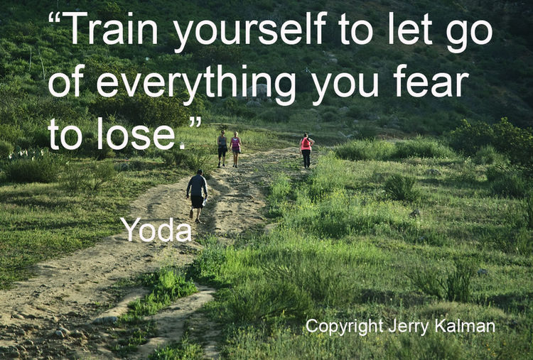 #Quotograph:Apt Yoda quote at #FallbrookLandConservancy's #MonserateMountain trailhead in #Fallbrook Communication Fallbrook Land Conservancy Fallbrook, CA Field Grass Monseratee MOuntain Sign Text Yoda