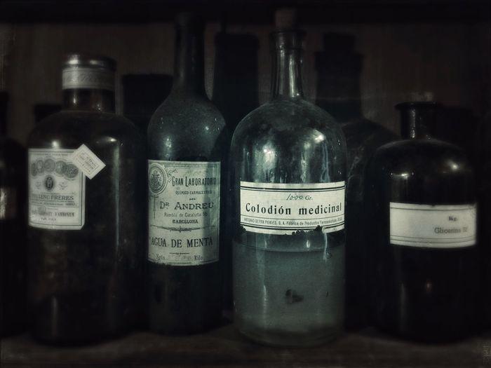 Oldtime Pharmacy Formulae Medecine Old Bottles Pharmaceutical Vintage Old Pharmacy
