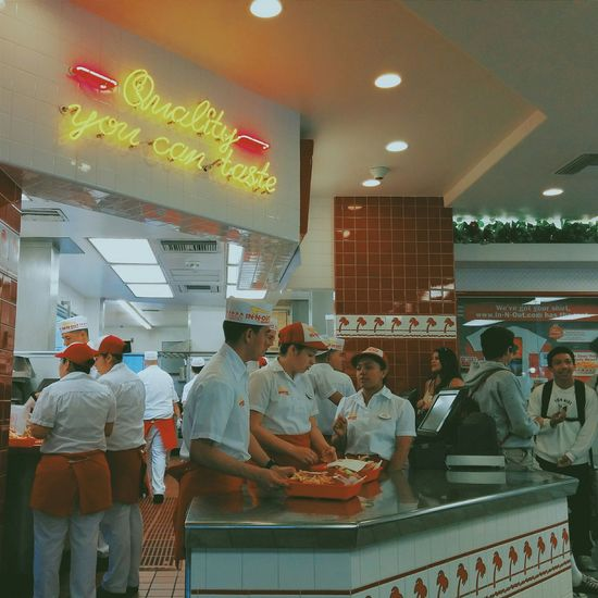 The Places I've Been Today IN-N-OUT BURGER Hollywood Los Angeles, California
