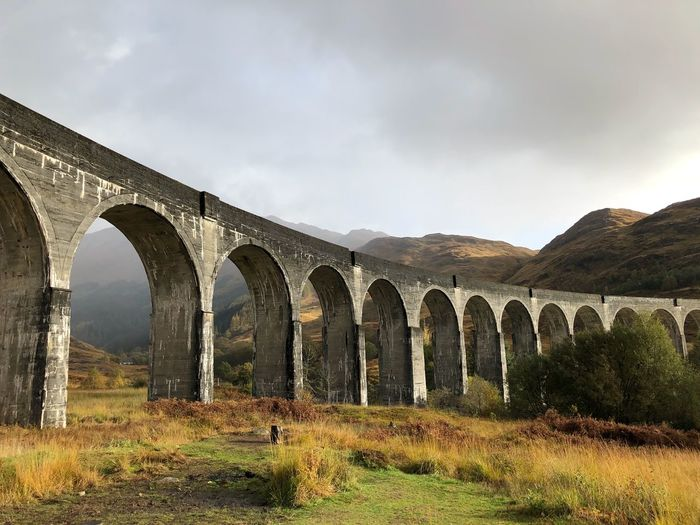 Harry Potter Arch Built Structure Architecture Bridge Connection Sky Arch Bridge Viaduct Bridge - Man Made Structure