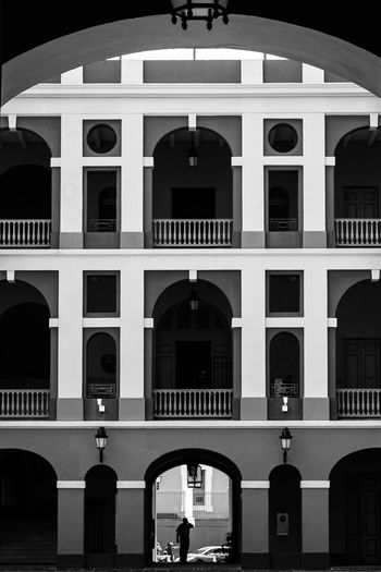 Sanjuan Puerto Rico Puerto Rico Black & White Old Buildings One of my older photos from back when I started in photography.