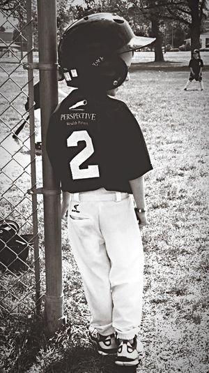 Teeball Myson Blackandwhite Sports Boymom Springtime Spring Sports Playball