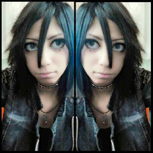 Make Up inspired by Teru (Versailles/Jupiter),,I need white color for my hair xD Selca Visualkeimakeup Teru Versailles jupiter cosu visualkeiband