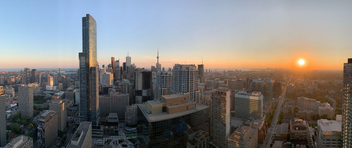 EyeEmNewHere Toronto City Building Exterior Built Structure Architecture Sky Office Building Exterior Cityscape Skyscraper Sunset Building Tall - High Residential District Urban Skyline Modern First Eyeem Photo EyeEmNewHere EyeEmNewHere