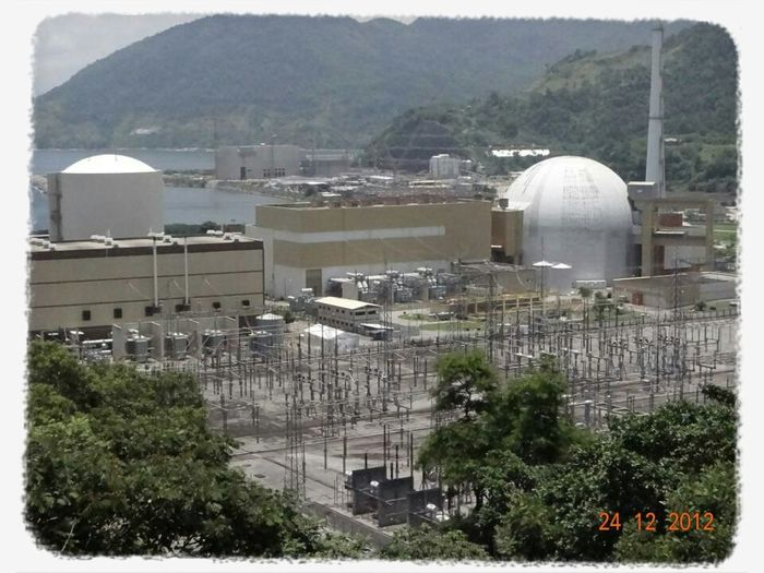 Usina nuclear de Angra dos Reis Brasil