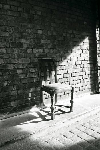 Chair Empty Chair Monochrome Take A Seat Creative Light And Shadow Chairswithstories Shades Of Grey