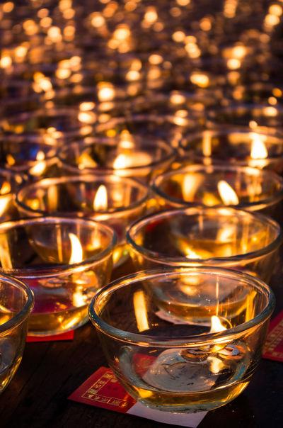 candle light at Wat Thawornwararam, Kanchanaburi, Thailand Burning Candle Candle Celebration Flame Frame Illuminated Light No People Place Of Worship Relaxing Religion Spiritual Spirituality Tea Light Thailand Wat Thawornwararam วัดถาวรวราราม