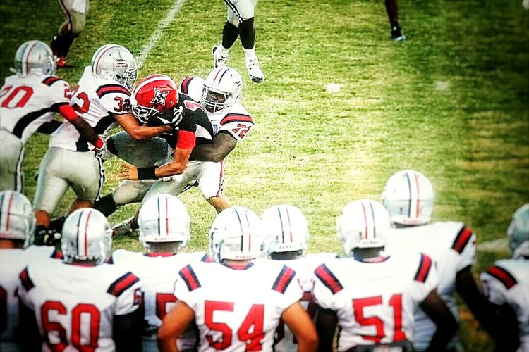 Me Tackling The Quarterback Im 72Adventure Club Sports Football Athelete Sports Photography Sports Stadium Footballislife Football Player