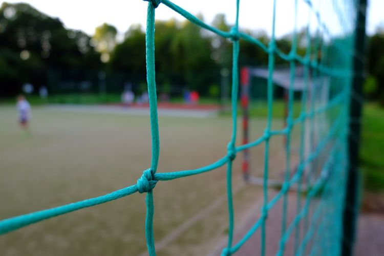 Boundary Chain Link Fence Chainlink Fence Competitive Sport Day Fence Focus On Foreground From An Airplane Window FUJIFILM X-T10 Metal Net - Sports Equipment Outdoors Playing Field Protection Safety Security The Color Of Sport Wasiak