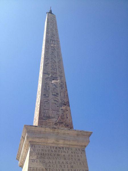 Obelisk Laterano Obelisk Lateranense in Rom🇮🇹