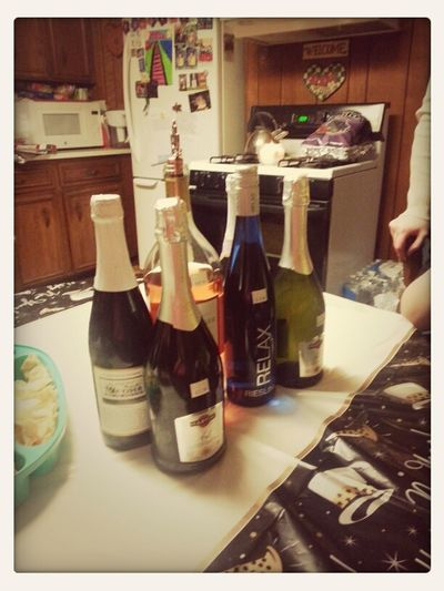 Wine And Champagne Kinda Night :-)