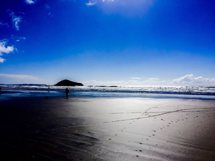 EyeEm Selects Beach Sea Water Sand Shore Nature Tranquil Scene Scenics Tranquility Beauty In Nature Horizon Over Water Blue Outdoors No People Cloud - Sky Day Vacations The Week On EyeEm