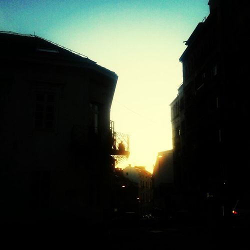 Architecture City Building Exterior Sunset No People Outdoors Sky Built Structure Cityscape Day