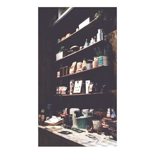 Hanging Out Shelf Enjoying Life Cafe Decoration Coffee Tea Holiday Throwback INDONESIA