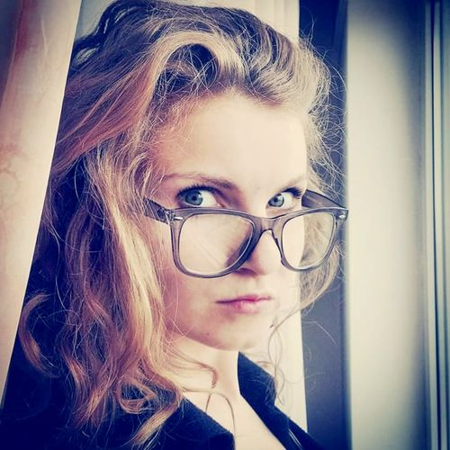 Nerdy Glasses Beautiful Girl Selfie ✌ Sexy Me Model Mode Sexygirl Beautiful ♥ Model Beauty Selfportrait