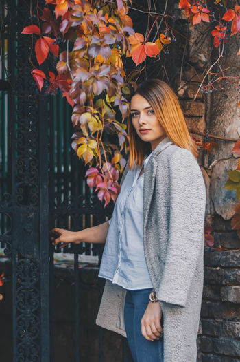 Autumn Autumn Colors Beautiful EyeEm Best Shots Getty Images Natural Natural Beauty Nature Colorful Eyes Face Hairstyle Leaves Model Outdoors Portrait Portrait Photography Premium Collection Week On Eyeem