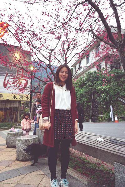 櫻。 Sakura Cherry Blossoms Enjoy The View HappyAnniversary 20150207 Happy :)