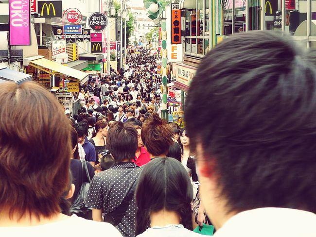 Large Group Of People People TakeshitaDori Takeshita Street Takeshita-dori Tokyo Japan Japan Photography Travel Travel Destinations Travel Photography Crowd Crowded Street Crowded Crowdedplace Exceptional Photographs Fresh On Eyeem  Japanese Style Motion