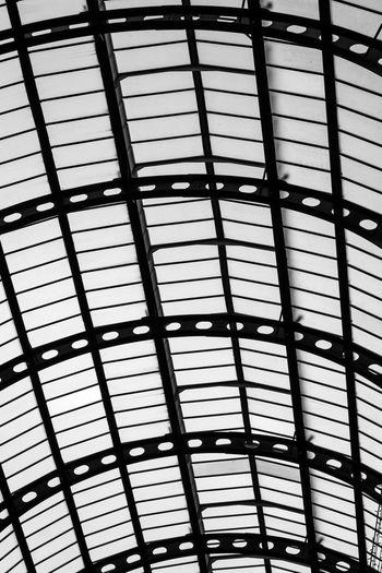 Full frame shot of skylight