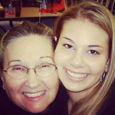 TBT  ... me and my grandma nanc <3 me n christian love her so much. <3