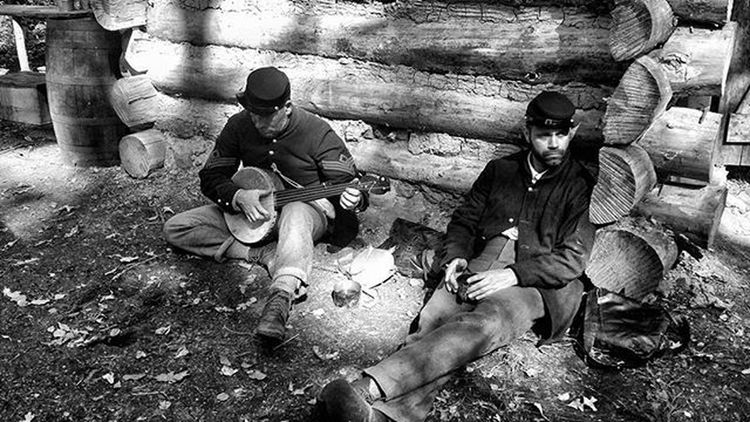 Dog days Civilwar Blackandwhite Wisconsin