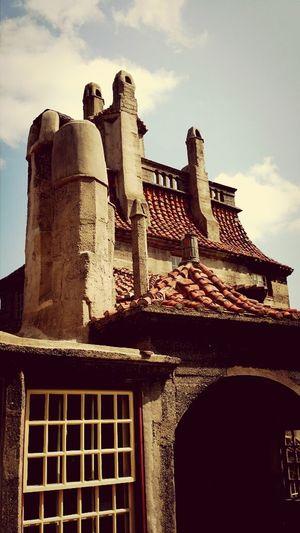 Architectural Detail Castle Doylestown Mercer Castle