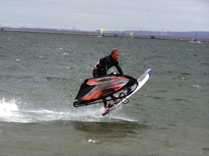 Windsurfing Windsurfer Sea Watersports