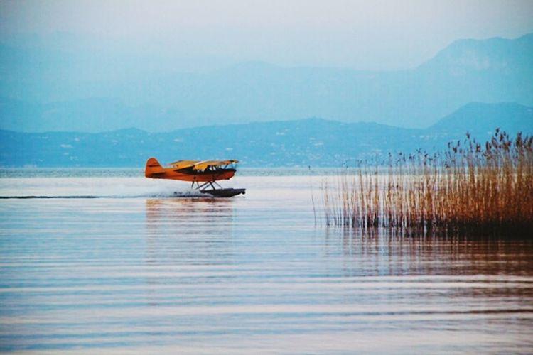 Water Lake Outdoors Nature No People Nautical Vessel Day Sky Oil Pump GARDA Lake 🌞 Gardasee,Italien Gardalake Italy Garda'slake First Eyeem Photo Second Acts