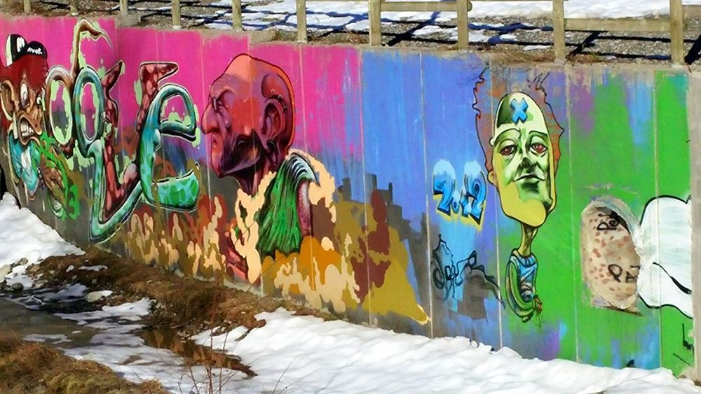 Art And Craft Creativity Day Grafitti Multi Colored Mural Paintings No People Outdoors