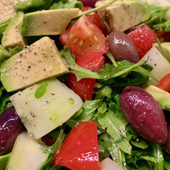 Close-up of chopped fruits in plate