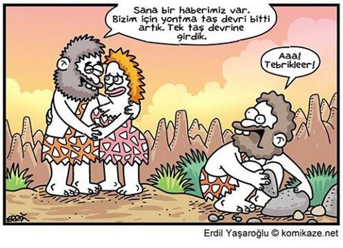 Günaydın Türkiye Mutlupazarlar Karikatur Yontmataşdevri Tektaşdevri biz hala Odun devrindeyiz. 😈👊