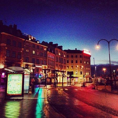 Стокгольм в 7 утра