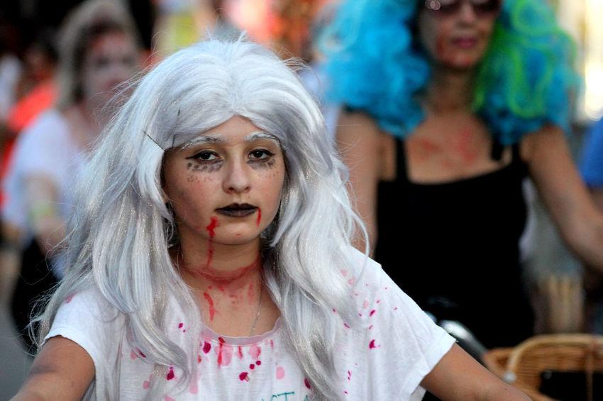 Fantasy Duval Street Zombie Apocalypse Zombie Bike Ride Streets Of Key West People Watching Key West Zombie Zombies  Key West At Night People Photography