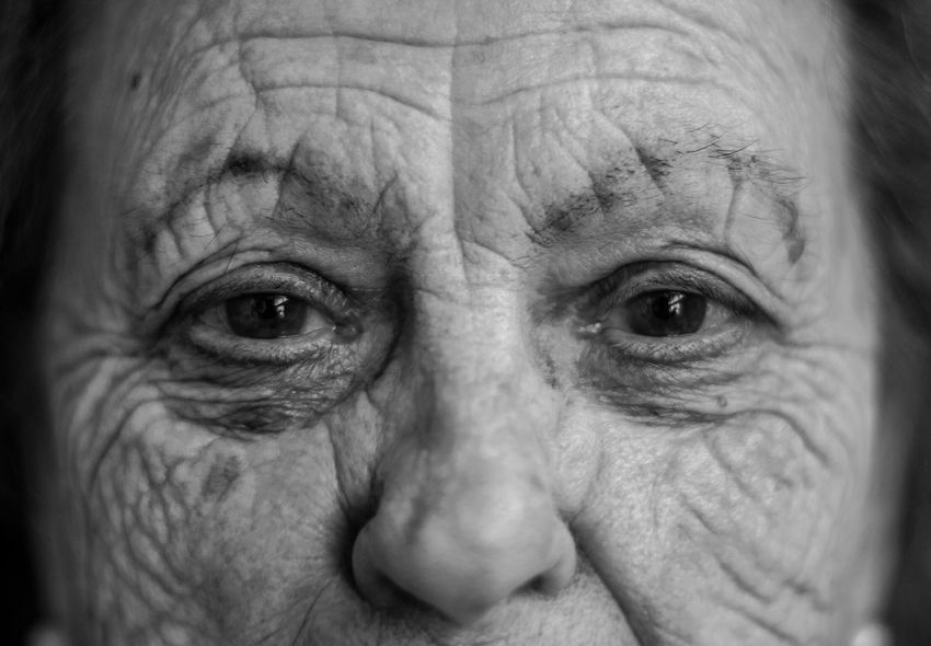 Human Body Part Senior Adult Wrinkled Looking At Camera One Person Human Eye Real People Human Face Portrait Senior Men Close-up Portrait Photography Eyes Watching You Eyelash Looking At Camera Eyesight Eyebrow One Man Only Eyeball Indoors  Day Adult Portraiture Face Portraits Black And White Friday